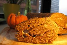 Pumpkin Cake Roll—just in time for fall!