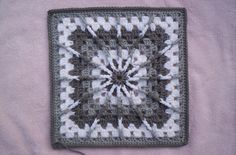 "Ravelry: Double Treble Burst Square (12""hx12""w inches) - Crochetville pattern by Amelia Beebe"
