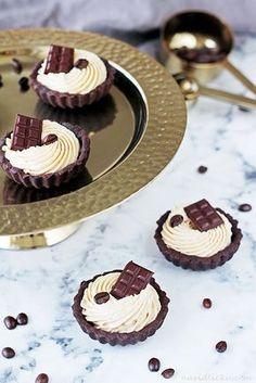 Na vidličku: Tartaletky s kávovo-karamelovým krémem