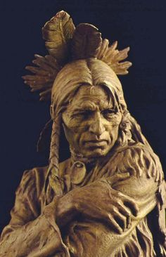 Blair Buswell, Figure Sculpture, Sports Sculptor, Portrait Sculptor, P Native Art, Native American Indians, Sculpture Clay, Sculptures, Photografy Art, Greek Statues, Angel Statues, Statue Tattoo, Modelos 3d