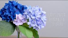 How To Make Crepe Paper Flowers 101 (part 2) - YouTube