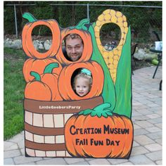 Pumpkin Patch Wooden Photo Prop . Large Festival Photo Booth Prop by LittleGoobersParty on Etsy