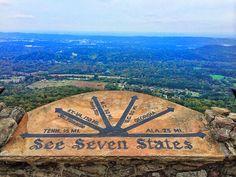 See Seven States ... Flat Earth Fun
