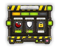 level up game ui - Google 검색