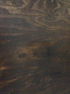 Close up of stained ply at Little Nina's - love the texture and the warm colour