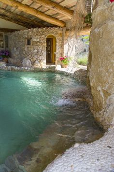 Dream Home Design, My Dream Home, House Design, Beautiful Pools, Beautiful Places, Outdoor Spaces, Outdoor Living, Swimming Pool Designs, Swimming Pools