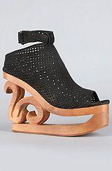 A very unique pair of shoes