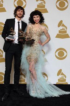 Kimbra's dress tho!!! Omg I could die.