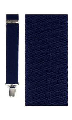 Navy Newport Suspenders