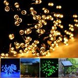 MT TECH 60 LED Solar Powered mini String Lights Outdoor Decorative Lights for Christmas Wedding Party Garden Lawn Patio Decoration Warm White * Details can be found by clicking on the image. Solar Fairy Lights, Solar Led String Lights, String Lights Outdoor, Outdoor Lighting, Light String, Lighting Ideas, Pergola Lighting, String Lighting, Light Led
