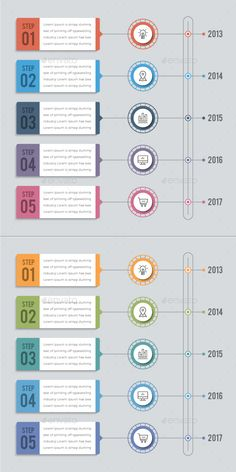 This is Timeline infographics. There are Warm & Cool 2 kind of Color. You can change all the main elements by your own choice and Timeline Infographic, Infographic Templates, Process Infographic, Infographics Design, Powerpoint Design Templates, Card Templates, 2 Kind, Timeline Design, Web Design Tutorials