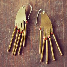 Suzannah Wainhouse Hand Earrings, back in stock!