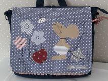 Kindergartenrucksack/ Kindergartentasche Maus