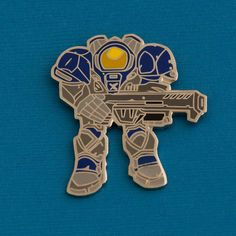 Starcraft Terran Space Marine Pin