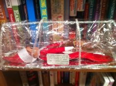"""Elf on the Shelf Sick Day  """"My magic is low… NO MORE TOUCHING!""""  hmmm… someone apparently loved their elf a little too hard!"""