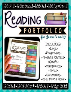 """This week I finally finished """"Reading Portfolios"""" for my students to use this year for their independent and in-class reading. I wanted stud..."""
