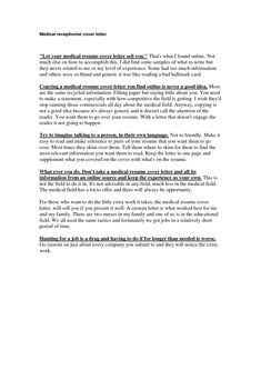 What to write on a cover letter instead of to whom it may concern