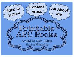 GRATIS para imprimir libro ABC