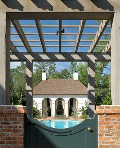Coastal  Grounds  Pool by Ken Tate Architect