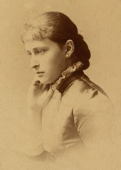 Princess Elisabeth of Hesse later Grand Duchess Elisabeth Feodorovna.