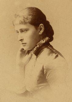 Princess Elisabeth of Hesse later Grand Duchess Elisabeth Feodorovna.
