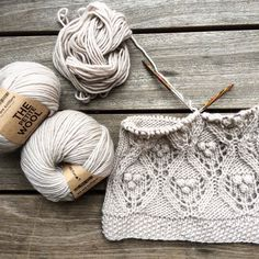 Yet another pattern takes form using gorgeous Peruvian highland wool from @weareknitters