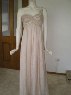 BNWT FOREVER NEW CELESTE SILK MAXI DRESS SZ 10 WEDDING, BRIDESMAID
