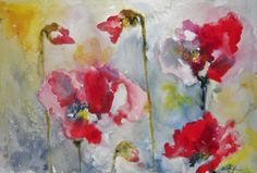 Red Poppies 2   Red Poppies 2  http://www.finelifeart.com/red-poppies-2/