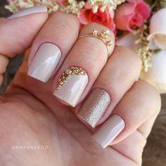 Nail Manicure, Gel Nails, Baby Shower Nails, Nail Salon Design, Teen Beauty, Pink Nail Designs, Acrylic Gel, Christmas Nail Designs, All Things Beauty