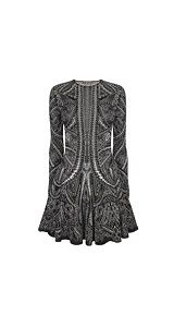 c61d7b8d54fa Love McQueen Paisley - Alexander McQueen Paisley Bi-Color mini dress.. I can