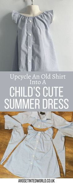 Cut Up Shirts, Old Shirts, Tie Dye Shirts, Recycled Mens Shirt, Recycled Dress, Mens Shirt Pattern, Shirt Dress Pattern, Hot Topic Clothes, Toddler Skirt