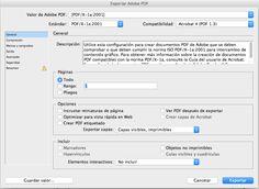 Cómo hacer un #PDF desde #Adobe #InDesign