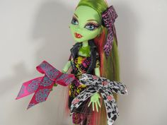 3 Pack of Hair Bows for Monster High or Barbie by FreakGearbyHM, $6.00
