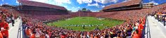 Auburn Jordan-Hare Stadium Panorama  -- Beautiful college campus.  Went here with Dale on our road trip to Destin, FL for my friend's wedding.  Just a gorgeous Alabama spring day