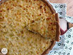 Tarte à l'oignon alsacienne et végétale, une merveille! - La Fée Stéphanie