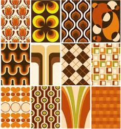 1970s - colors and patterns