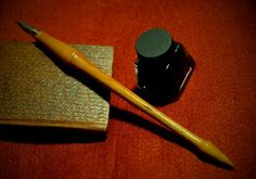 artists dip pen nib holder, hand crafted unique writing instrument by HarryShotton on Etsy