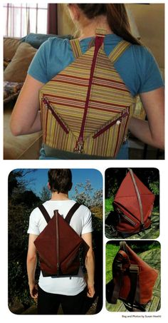 Andrea s Rucksack is a quick and easy sew you just may want to make one for  everyone you know! Andrea s Rucksack features zip top fastening and a fold  over ... 7ed9849158