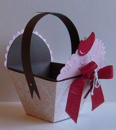Cup Cake Treat Box