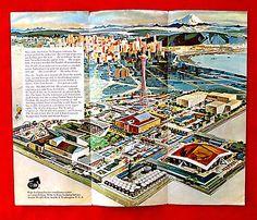 1962 Seattle World's Fair Traveller's Brochure rdbc