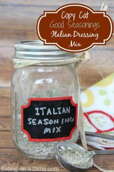 copycat Good Seasons italian dressing mix