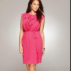 Avenue Ruffle Front Dress $68.00 So fun and flirty