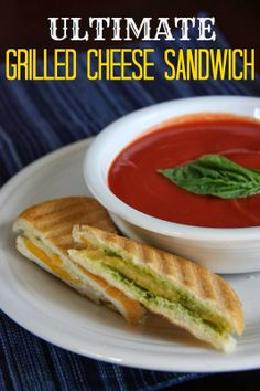 The Ultimate Grilled Cheese Sandwich from The Lovebugs Blog