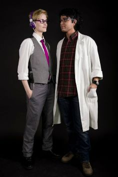Cecil and Carlos cosplay. It is perfect.