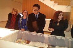 Del 17 de febrero al 29 de abril de 2016. Sala de exposiciones de la Biblioteca María Moliner (Universidad de Zaragoza). Visita a la exposición del Embajador de Japón en España,  Excmo. Sr. D. Kazuhiko Koshikawa.