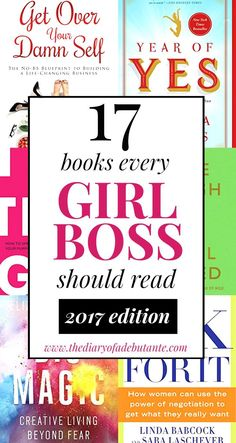 17 of the best books for female entrepreneurs to read and apply in 2017