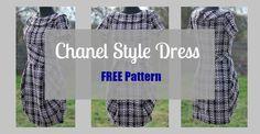 Chanel Little Black Dress – FREE Sewing Pattern