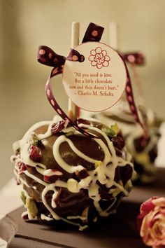Valentine's Day Gift or Wedding Favor... Make your own and decorate.