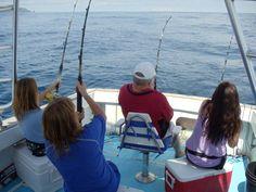 4 Wahoo at once! www.dreamonsportfishing.com