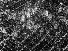 ニューヨークの夜景を上空2300メートルから見れば、まるで精密回路のようだ(画像)